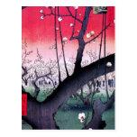 Hiroshige Kameido Tarjetas Postales