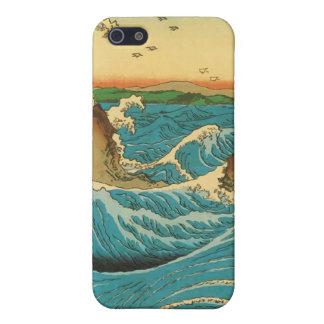 Hiroshige Navaro Rapids iPhone 5 Cases