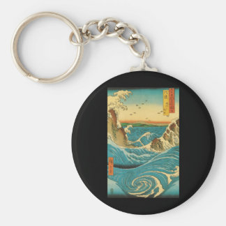 Hiroshige Navaro Rapids Keychains