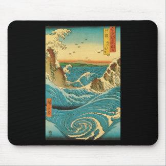 Hiroshige Navaro Rapids Mouse Pad