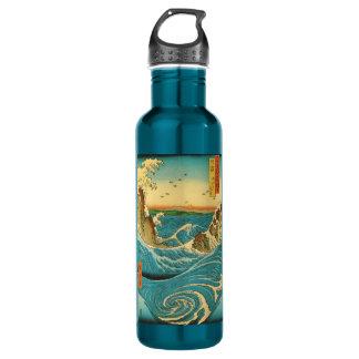 Hiroshige Navaro Rapids 24oz Water Bottle