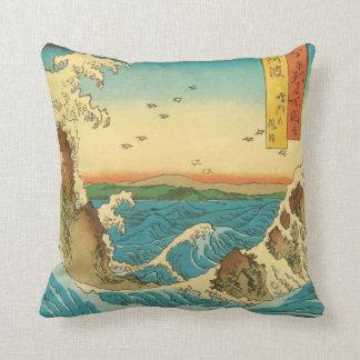 Hiroshige Navaro Rapids Pillows