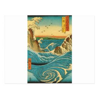 Hiroshige Navaro Rapids Postcard