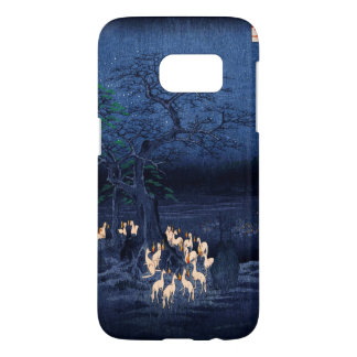 Hiroshige New Year's Eve Foxfires at the Changing Samsung Galaxy S7 Case