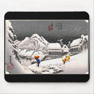 Hiroshige Utagawa, Hiroshige Utagawa Mouse Pad