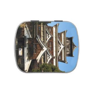 Hiroshima Castle 広島城, Hiroshima, Japan Candy Tin