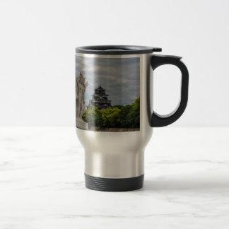 Hiroshima Castle 15 Oz Stainless Steel Travel Mug