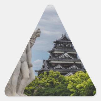 Hiroshima Castle Triangle Sticker