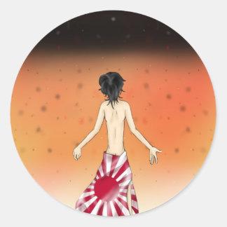 Hiroshima Classic Round Sticker