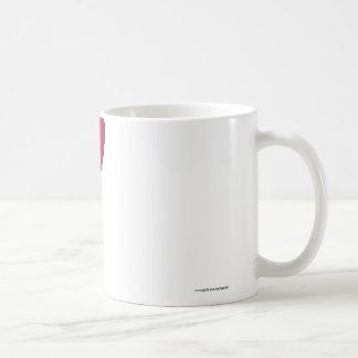 Hiroshima Prefecture Flag Heart Classic White Coffee Mug