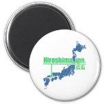 Hiroshima retra imanes