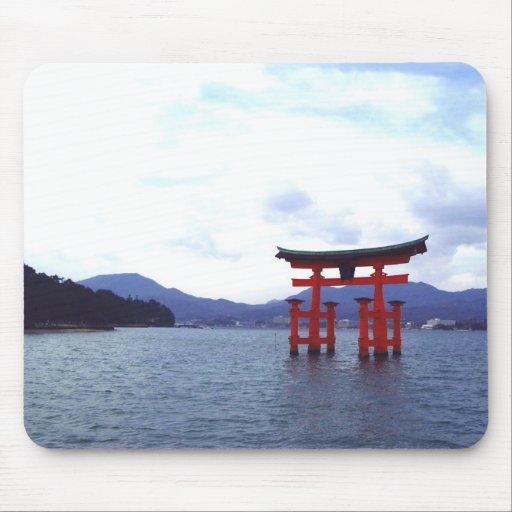 Hiroshima Shrine- mousepad