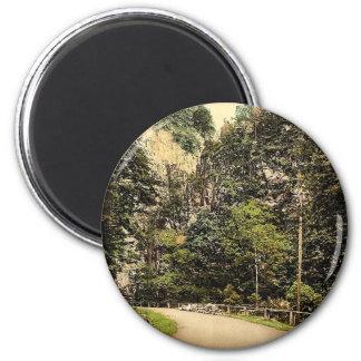 Hirschsprung, Black Forest, Baden, Germany classic Magnet