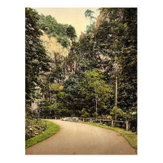 Hirschsprung, bosque negro, Baden, obra clásica de Postales
