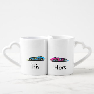 His and Her Hot Hods Coffee Mug Set