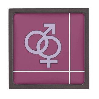 His and Her Purple Premium Gift Box