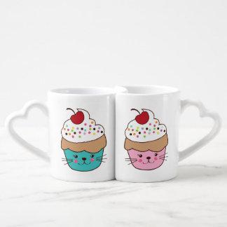 His and Hers Cupcake Mugs