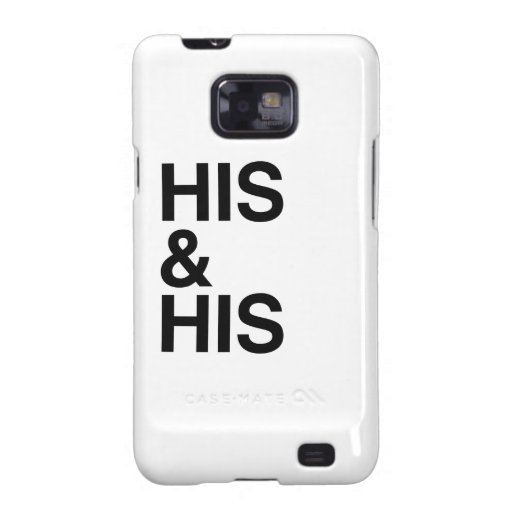 HIS AND HIS -.png Samsung Galaxy SII Cases