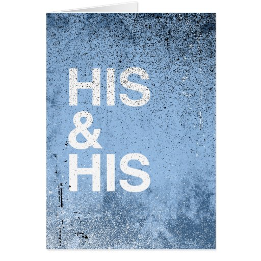 HIS AND HIS WHITE -.png Card