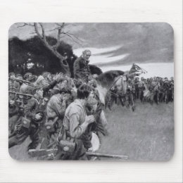 His army broke up weeping and sobbing' mouse pad