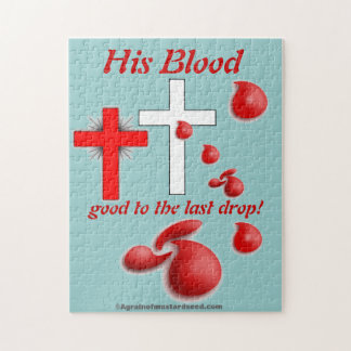 His Blood Christmas Jigsaw Puzzle