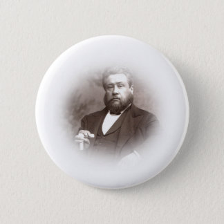 His creed was Christ crucified. Button