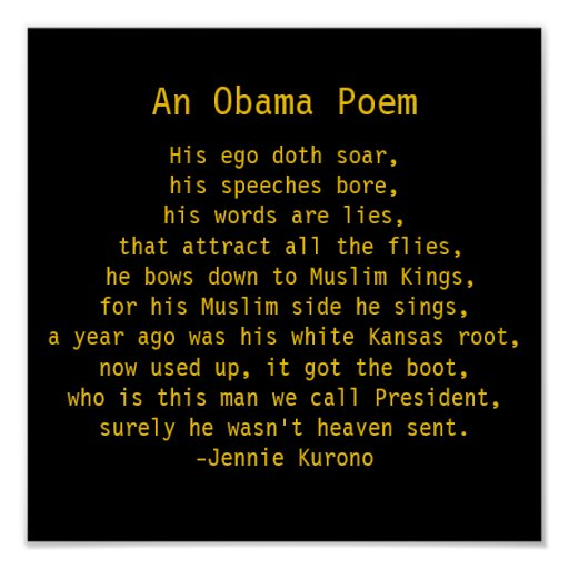 His ego doth soar, his speeches bore, his words... print