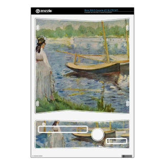 His embankment at Argenteuil by Edouard Manet Skin For Xbox 360 S