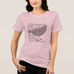 His Eye is on the Sparrow - Christian T-Shirt