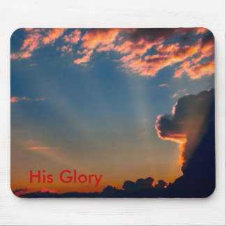 His Glory, His Glory Mouse Pad