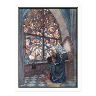 His Grandmother's Tale by Edmund Dulac Postcard