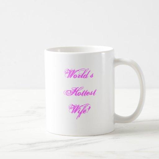 His Her Hot Wife Mug! Classic White Coffee Mug