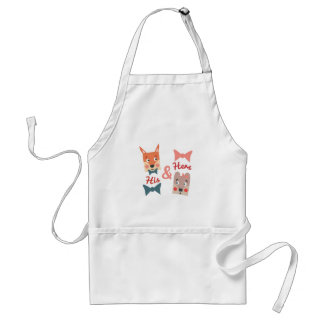 His & Hers Adult Apron