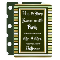His & Hers Combined Party Invitation