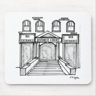 His & Hers Entrances @ Divorce Court Mouse Pads