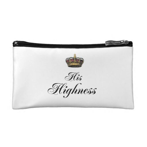 His Highness (part of his and hers set) Cosmetic Bag