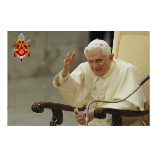 His Holiness Pope Benedict XVI Poster