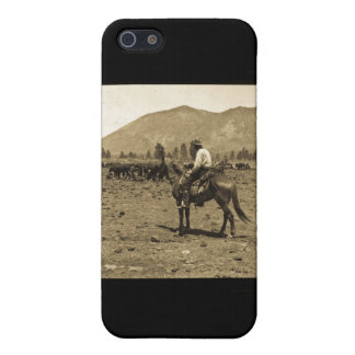 His Horse and His Cattle are His Only Companions iPhone 5 Cases