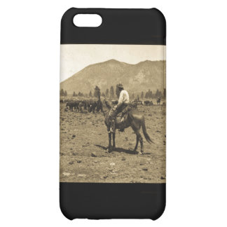 His Horse and His Cattle are His Only Companions Cover For iPhone 5C