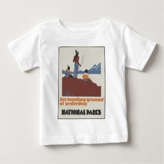 His hunting ground of yesterday National Parks Baby T-Shirt