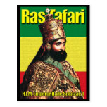 His Imperial Highness Emperor Haile Selassie I Post Card