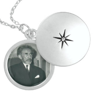 His Imperial Majesty Emperor Haile Selassie I Locket Necklace