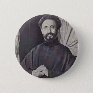 His Imperial Majesty Qedamawi Haile Selassie Pinback Button