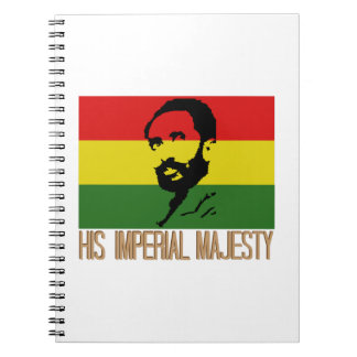 His Imperial Majesty Spiral Notebook