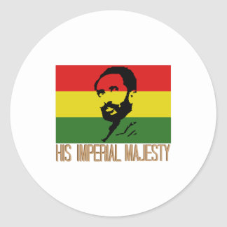 His Imperial Majesty Round Sticker