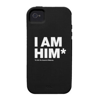 His Imperial Majesty Vibe iPhone 4 Cover