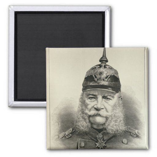 His Imperial Majesty William I 2 Inch Square Magnet