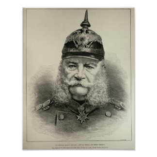 His Imperial Majesty William I Print