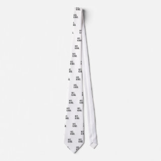 His King Print Neck Tie