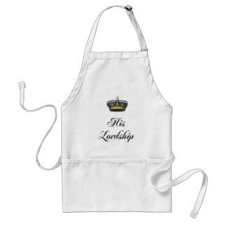 His Lordship Adult Apron